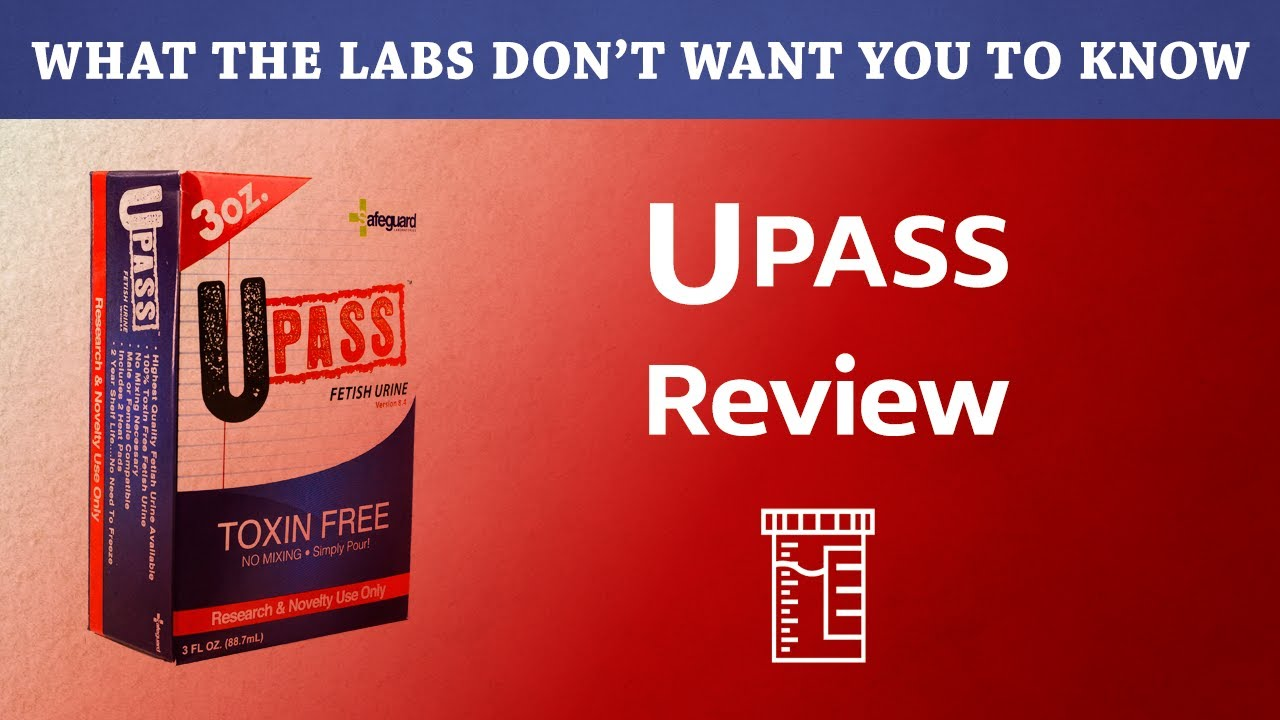 UPass Synthetic Urine Test and Review