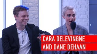 Cara Delevingne is dying to take Dane DeHaan on a night out with Rihanna