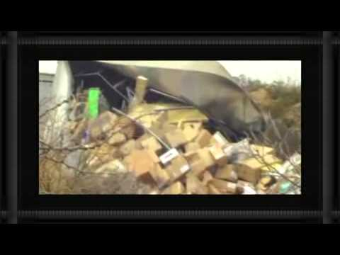 Prison Bus Crashes On Top of Moving Train Video""