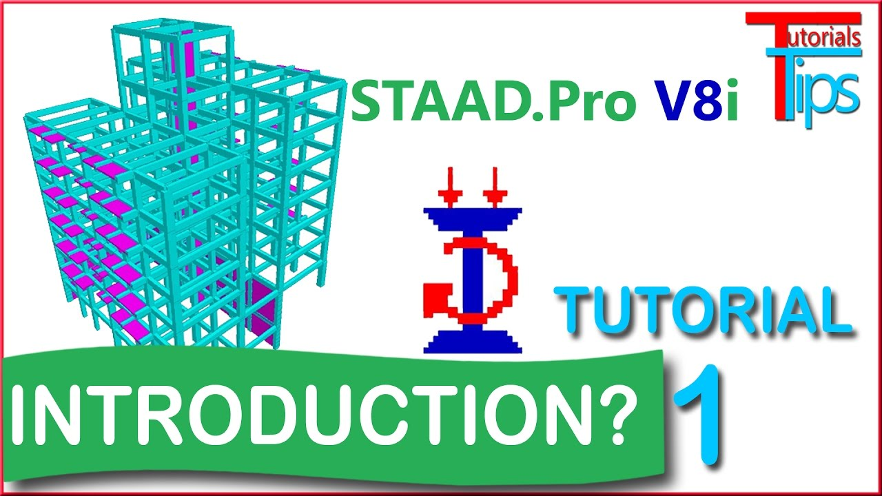 How to learn staad pro software, free tutorials.