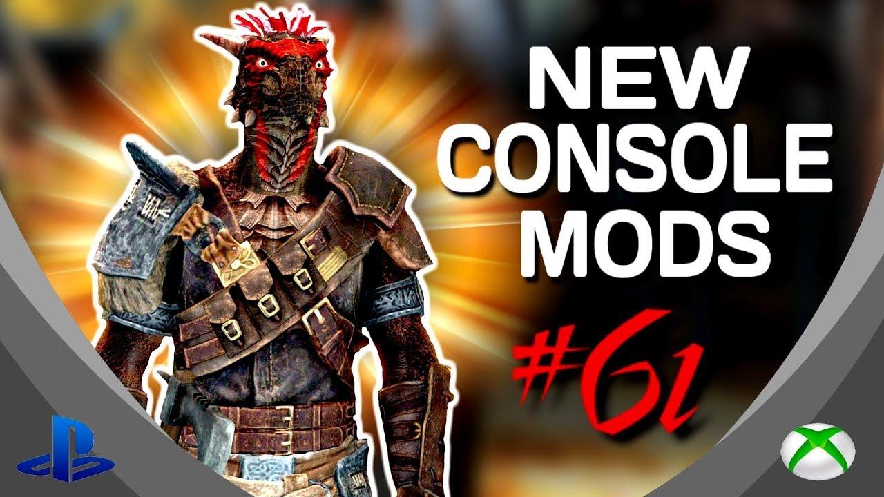 Skyrim Special Edition 5 Brand New Console Mods 61 Ps4