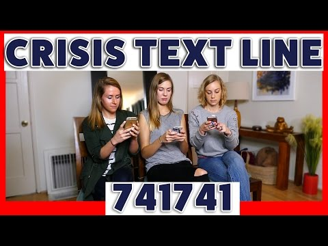 Crisis Text Line - A Free, 24/7 Text Line For People In Crisis | Kati Morton