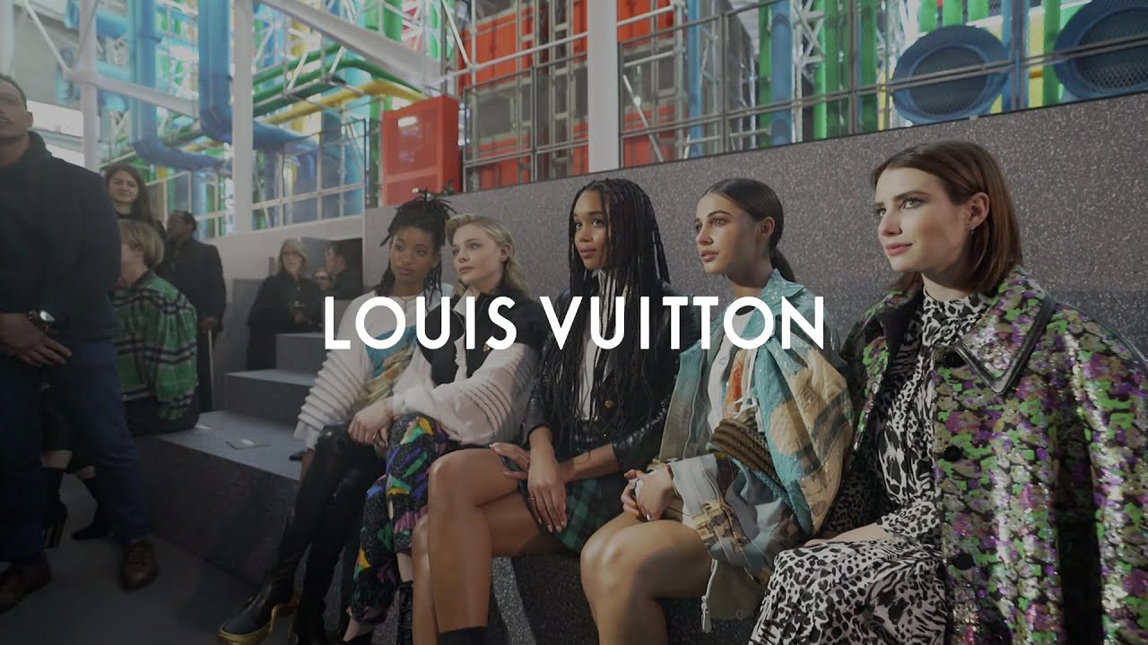 4c7c88883926a Louis Vuitton Fall-Winter 2019 Show  All-Access with Loïc Prigent ...