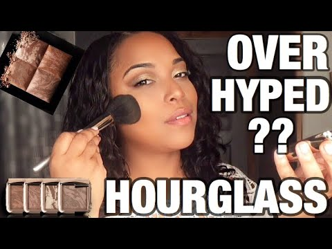 OVERHYPED $50 BRONZER⁉️| Hourglass Radiant Bronze Light | REVIEW on Tan Olive Indian Skin