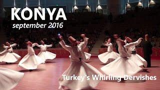 The Sufi Whirling Dervishes of Konya - ritual dance, Turkey