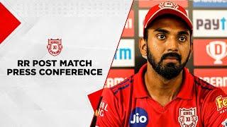 #KXIPvRR | Post Match Press Conference - KL Rahul | Dream 11IPL 2020