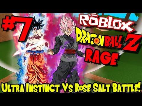 ULTRA INSTINCT VS ROSE SALT FIGHT! | Roblox: Dragon Ball Z Rage Remastered - Episode 7