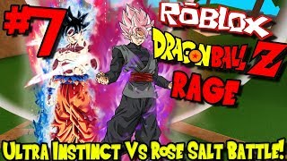 ULTRA INSTINCT VS ROSE SALZ KAMPF! | Roblox: Dragon Ball Z Rage Remastered - Episode 7