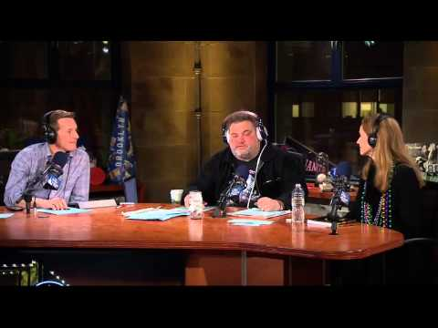 The Artie Lange   Laura Cayouette Part 1  In The Studio
