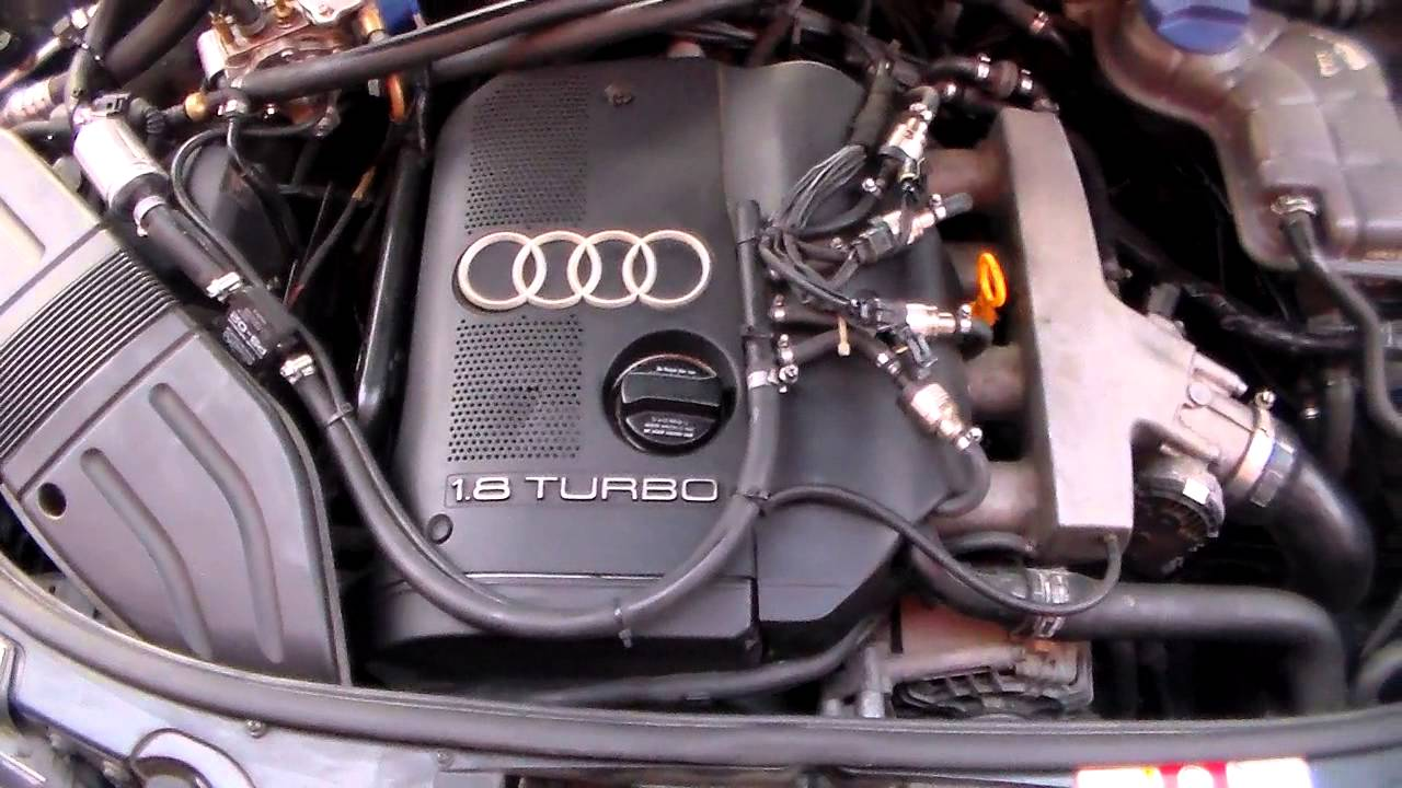 Technology Audi A4 18 T Lpg System Tomasetto Youtube