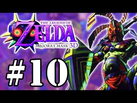 Let's Play: Zelda Majora's Mask 3D - Parte 10 - Guerreiro Xamã