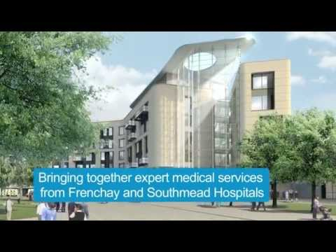 The new Brunel building at Southmead Hospital Bristol