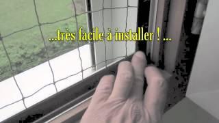 Video filet antifugue pour chat monter sur vos balcons - Filet fenetre chat ...
