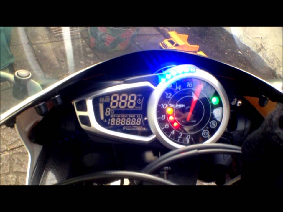 First Ever Vlog, Triumph Daytona 675 SE 2010 (Vlog01) - YouTube
