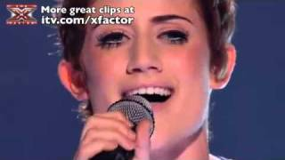 Katie Waissel Sings Help - The X Factor Live Show Katie Waissel Sings Help - Full Version