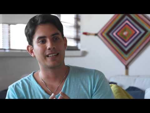 Patrycia Travassos entrevista Matias de Stefano no Rio de Janeiro