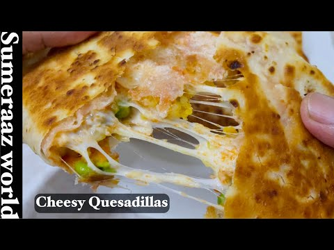 Cheesy Vegan Quesadillas