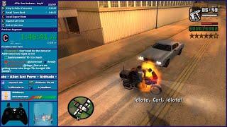 GTA San Andreas Any% Speedrun & Dreamcast Games - Hugo_One Twitch Stream - 10/1/2019