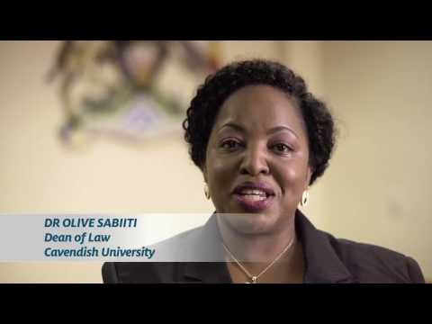 Cavendish University Dean of Law Dr.Olive Sabiiti