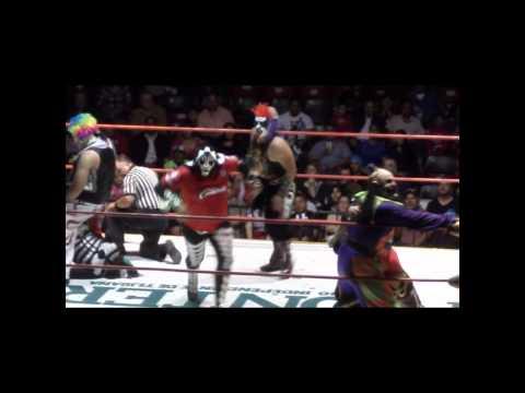 Las Parkas vs Los Psycho Circus 2 REVANCHA! Tijuana 2012 by DiiBeR..
