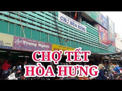 KHÔNG KHÍ MUA SẮM TẾT TẠI CHỢ HÒA HƯNG NGÀY 25 TẾT | saigon travel Guide