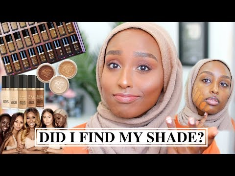 NEW Too Faced X Jackie Aina Born This Way Foundation Review + Wear Test! | Aysha Abdul