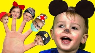 Canción de La Familia Dedo | Canciones InfantilesEn Español Are you sleeping Nursery Rhyme Song LM