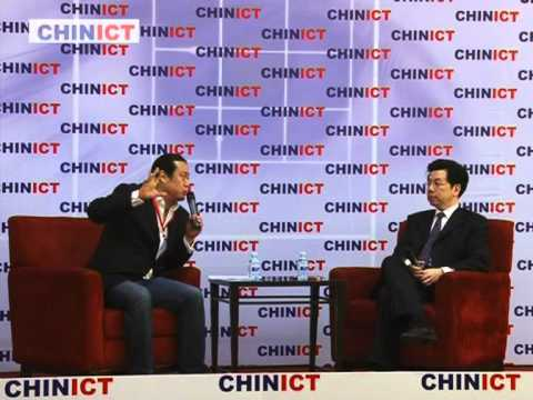 Kaifu Lee 李开复, founder of Innovation Works, speaks at CHINICT.