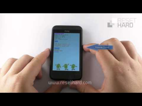 How To Hard Reset HTC Desire 200