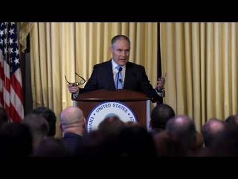 EPA's Pruitt to take on two key Obama Administration regulations