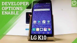 Enable Developer Options LG K10 (2017) - Allow USB Debugging