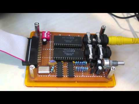 """LM-512 Z80 microcomputer: Dual AY-3-8912 card plays """"Seagulls"""" by Tao"""
