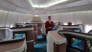 Cathay Pacific CX543 B747-400 First Class Tokyo Haneda to Hong Kong