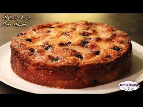 recette-de-clafoutis-poires,-mûres-et-amande