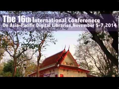 ICADL 2014: 16th International Conference on Asia-Pacific Digital Libraries