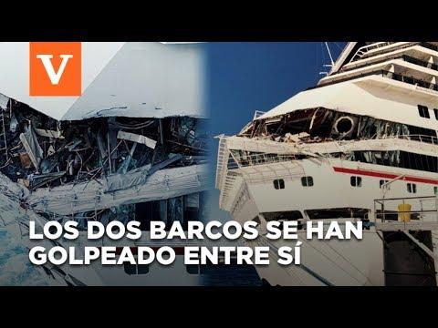 Momento Impactante: Dos Cruceros Chocan En Cozumel, Provocando Una Evacuación