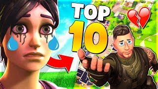 TOP 10 Saddest FAILS in Fortnite History