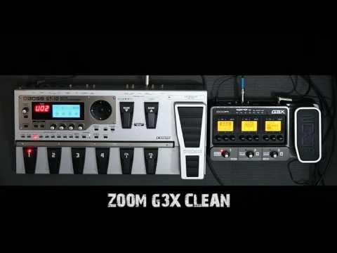 BOSS GT10 vs ZOOM G3X
