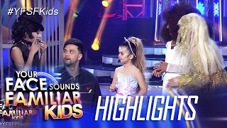 Your Face Sounds Familiar Kids: Xia, namili kina Awra, Elha at AC bilang Ariana Grande