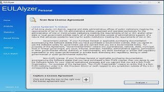 What's in that License Agreement you agreed to? EULAlyzer Review & Tutorial