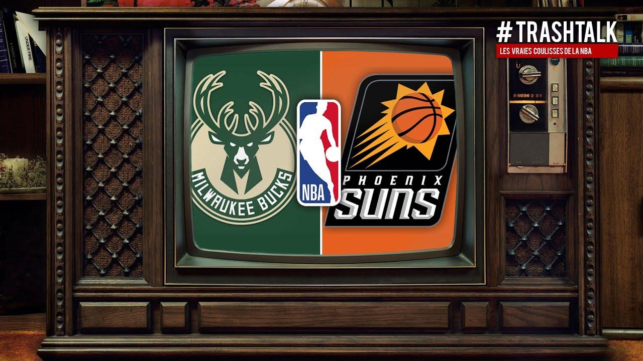 NBA FINALS 2021 : BUCKS - SUNS, LE GAME 6 COMMENTÉ EN DIRECT SUR TRASHTALK !