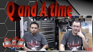 Q and A time Facebook Live Show Episode 106