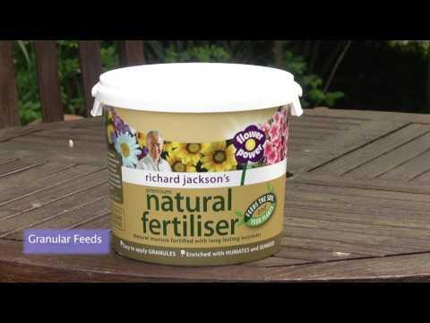 Feeding outdoor plants