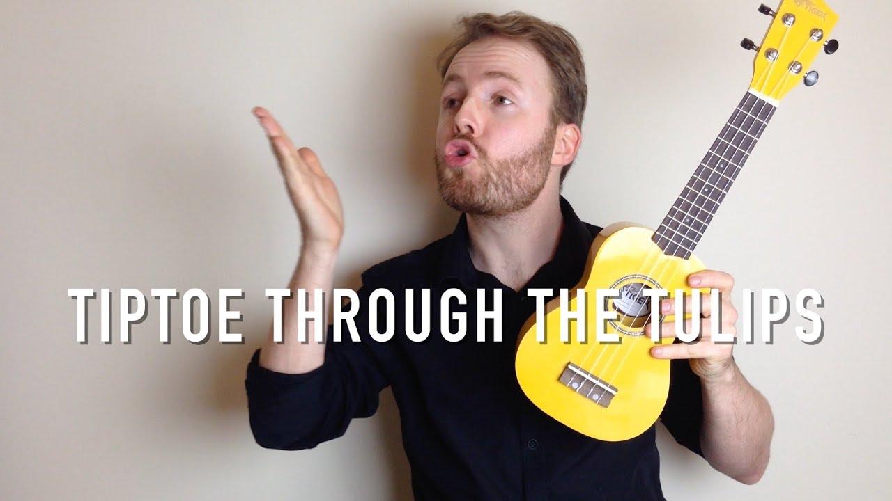 Tiptoe through the tulips by tiny tim ukulele tutorial.