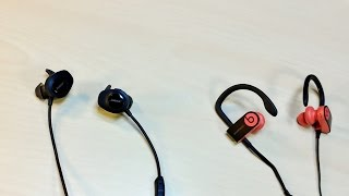 Powerbeats 3 Wireless VS BOSE SoundSport Wireless