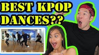 The best kpop dances reaction video!