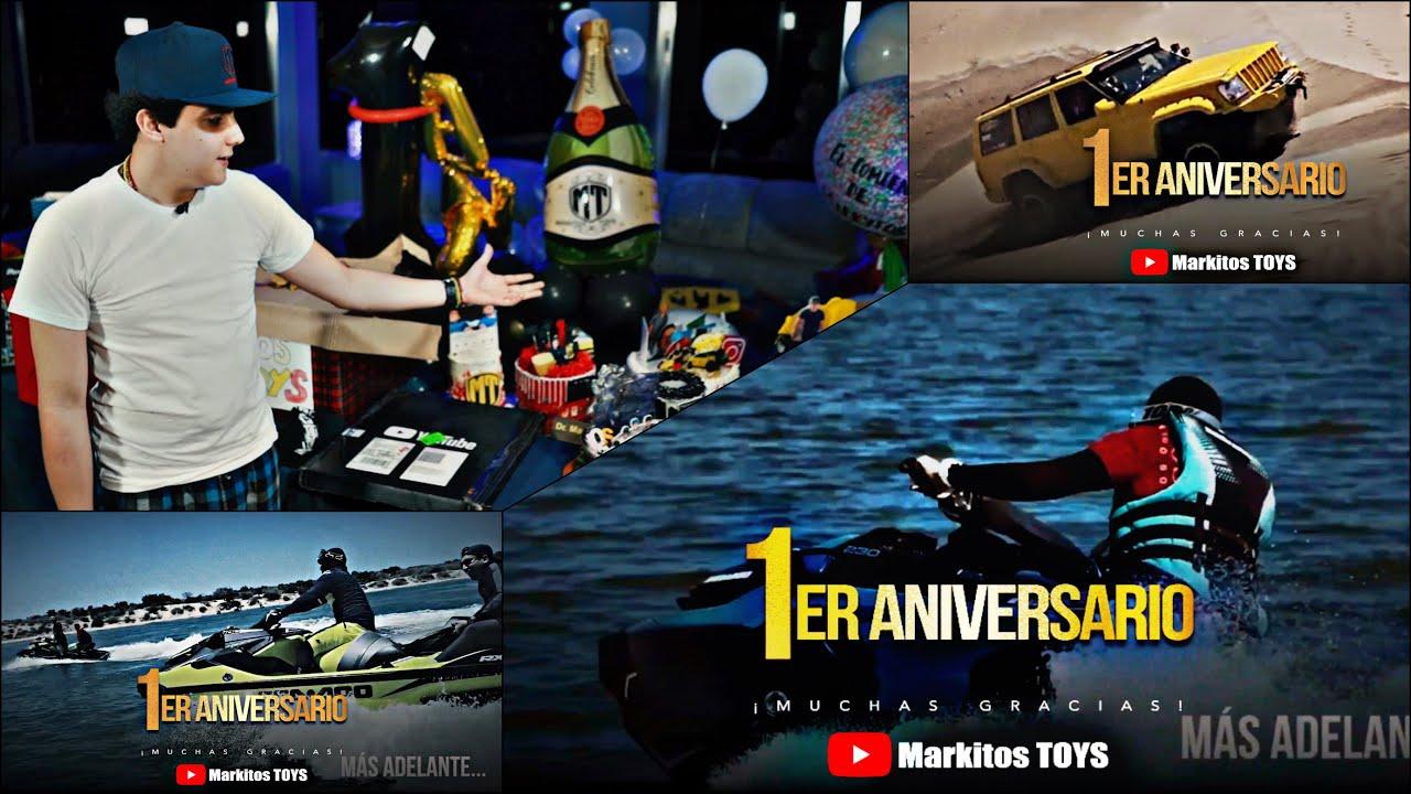 1ER ANIVERSARIO | REGALOS | MARKITOS TOYS