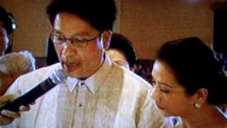 MAR ROXAS - KORINA SANCHEZ Nuptials (Wedding News By ABSCBN - 2 =)