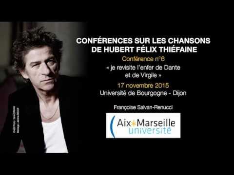 Conférence n°6 - « je revisite l'enfer de Dante et de Virgile »  - Dijon