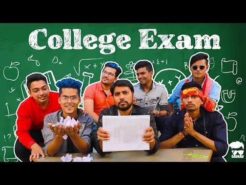 Collage Exam || Gujrati Comedy Video - Kaminey Frendzz